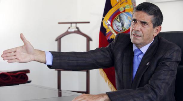 Edmundo Moncayo director de la SNAI