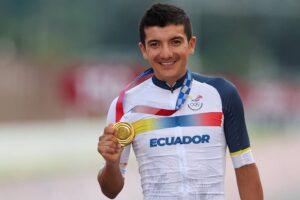 Richard Carapaz recibirá 100 mil dólares tras ganar medalla de oro en las Olimpiadas de Tokio 2020